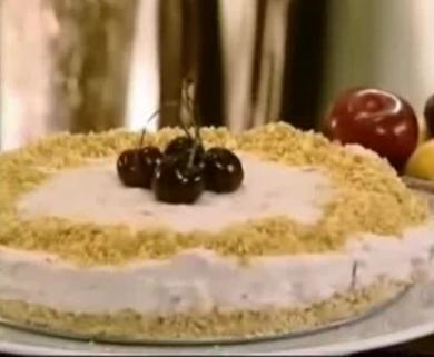 Холодный летний фруктовый торт