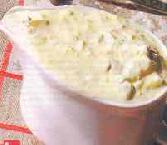 Дип с белой фасолью